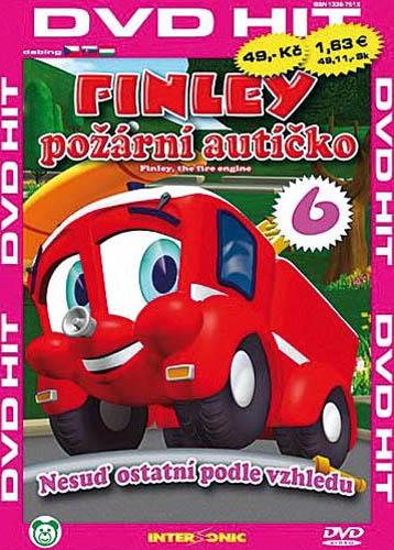 Finley - požární autíčko - 6 - DVD