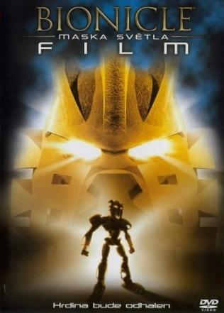 Bionicle - Maska světla - Film - DVD /plast/