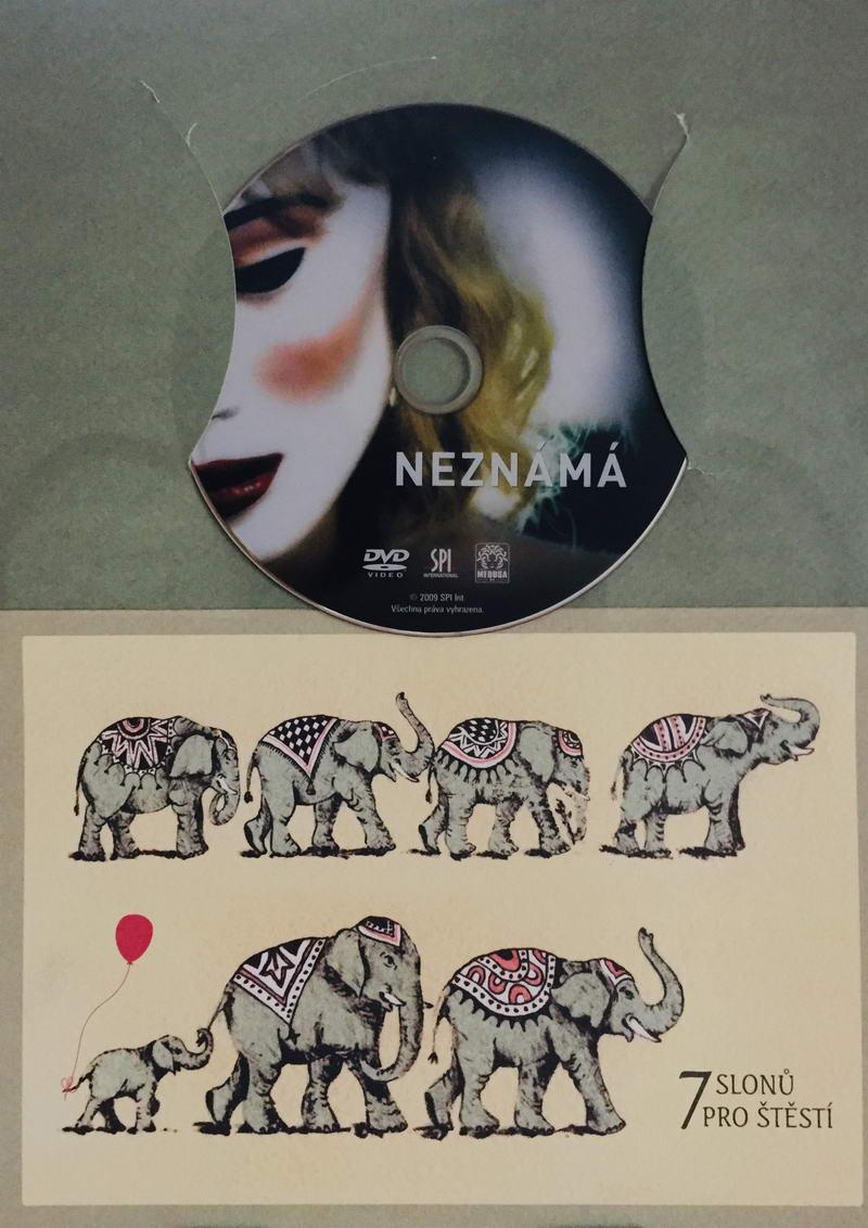 Neznámá - DVD /dárkový obal/