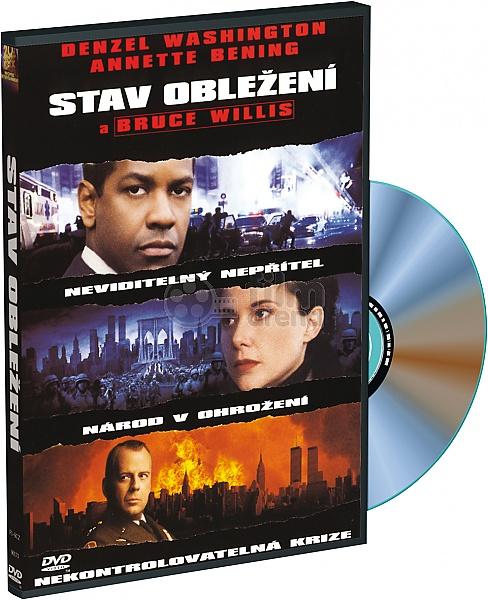 Stav obležení - DVD /plast/