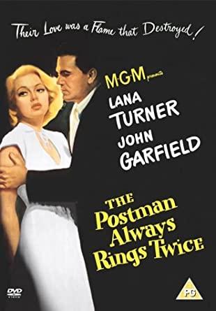 The Postman Always Rings Twice / Pošťák vždy zvoní dvakrát - DVD /plast/