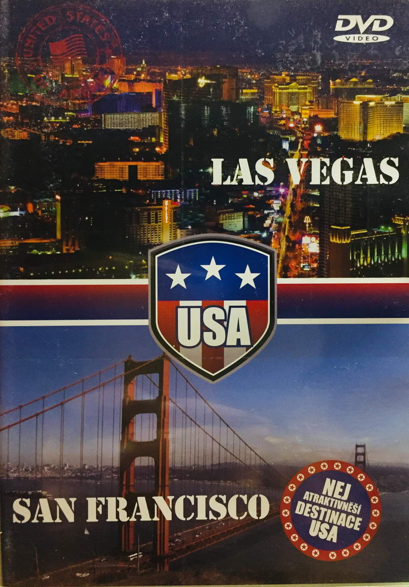 Las Vegas / San Franciscko - DVD /plast/