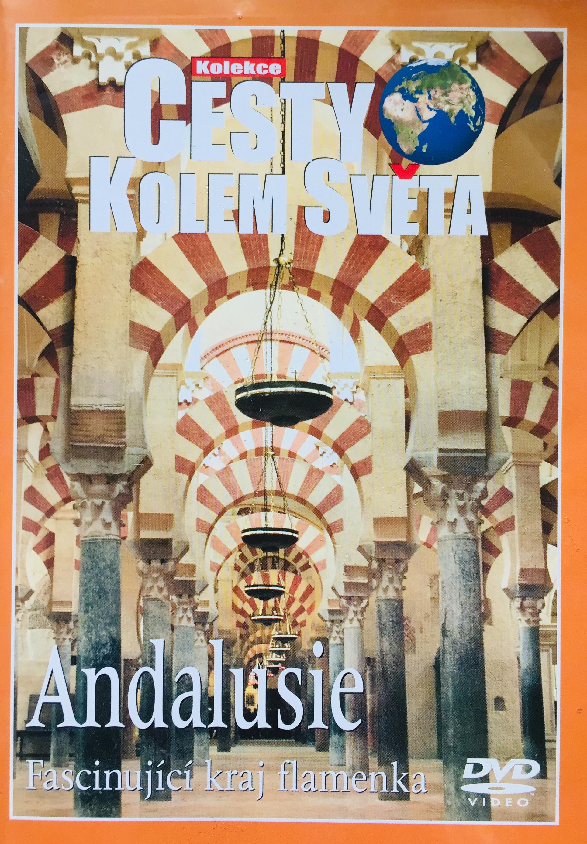 Cesty kolem světa - Andalusie - DVD /plast/