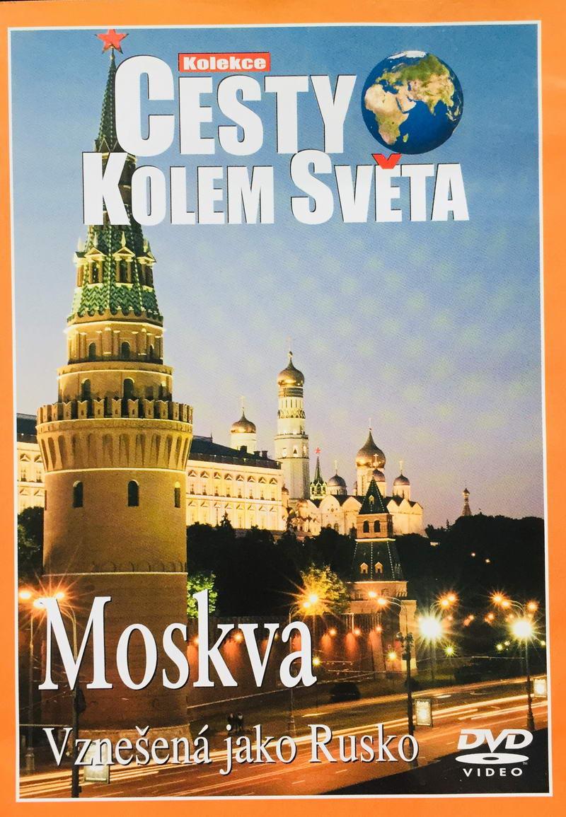 Cesty kolem světa - Moskva - DVD /plast/