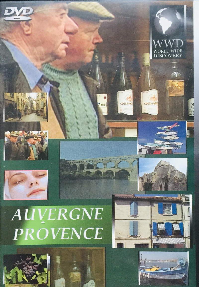Auvergne Provence - WWD - DVD /plast/