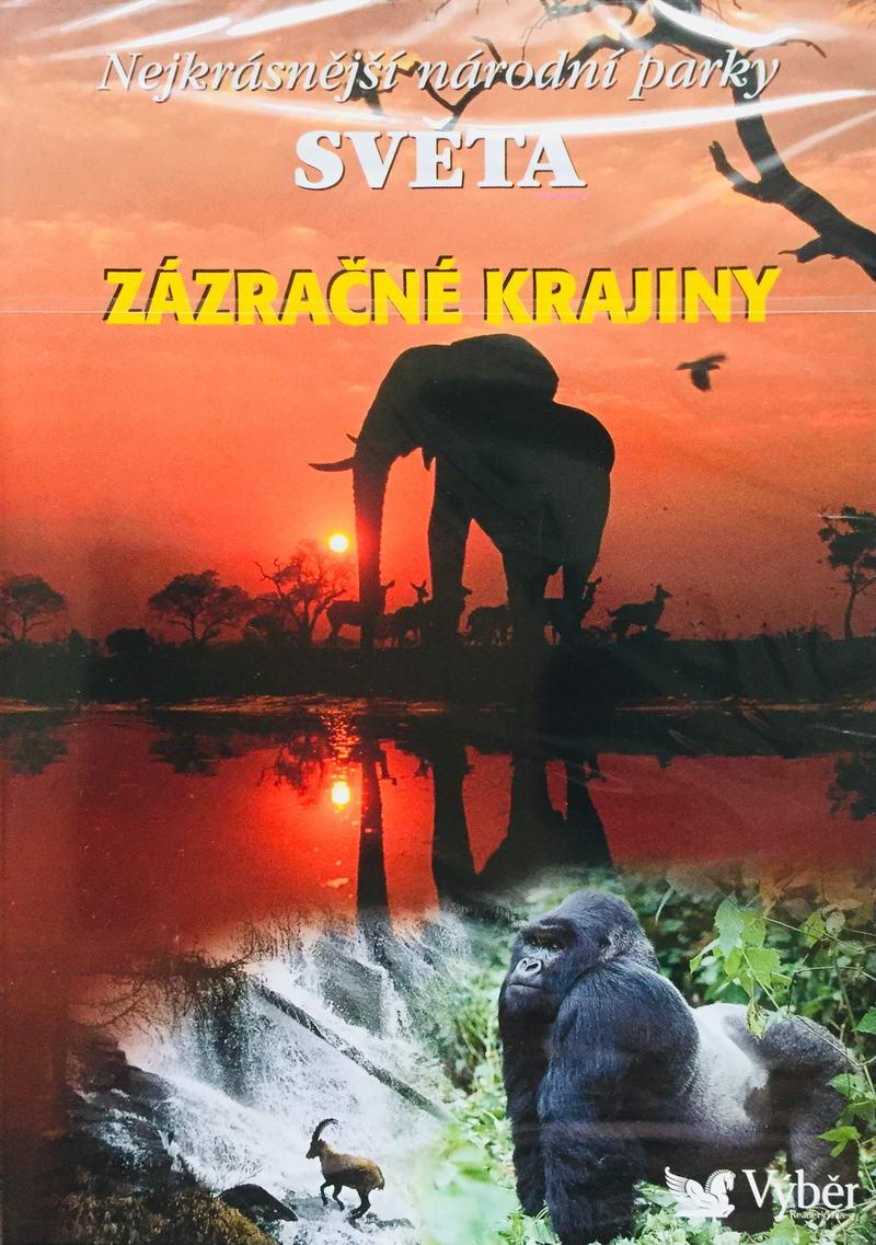 Nejkrásnější národní parky světa -Zázračné krajiny - DVD /plast/