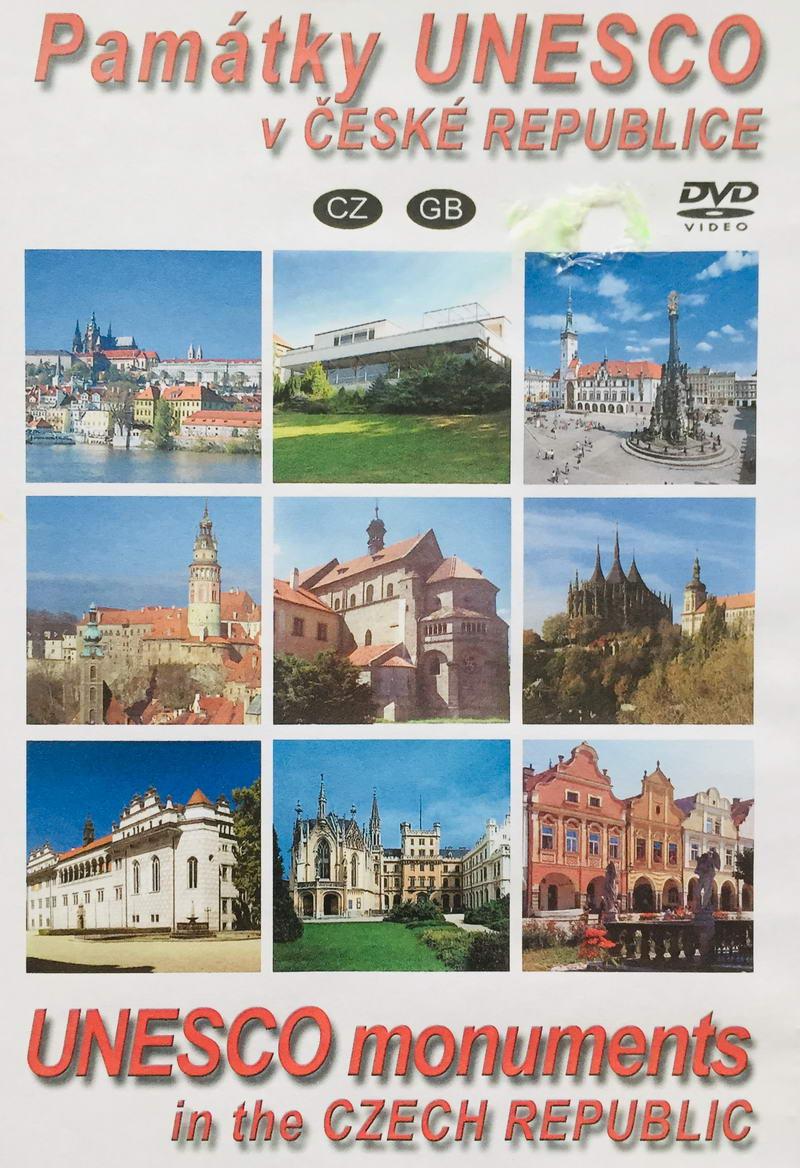 Památky Unesco v České republice - DVD /plast/