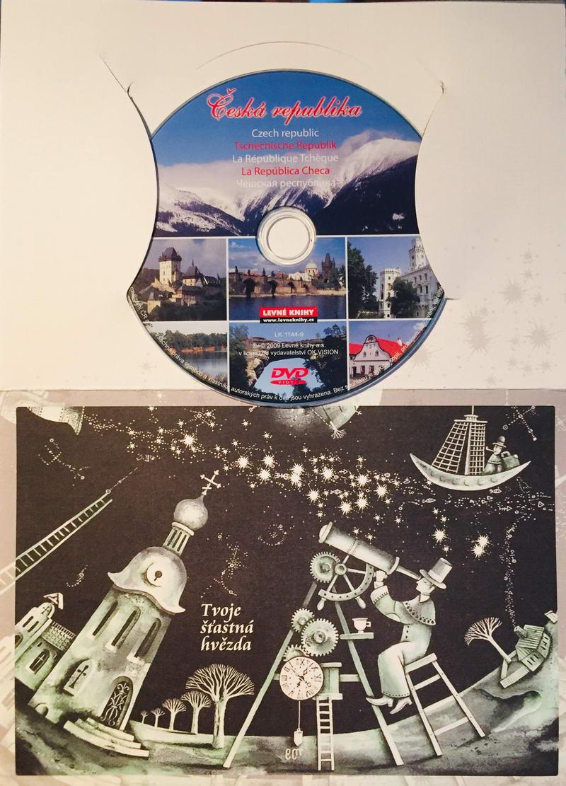 Česká Republika - DVD /dárkový obal/