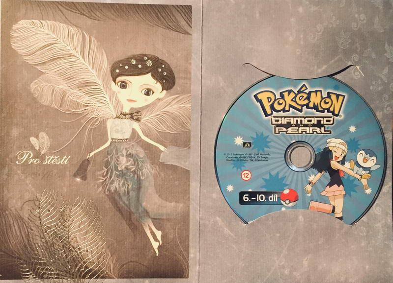 Pokémon Diamond and Pearl 6.-10. díl - DVD /dárkový obal/