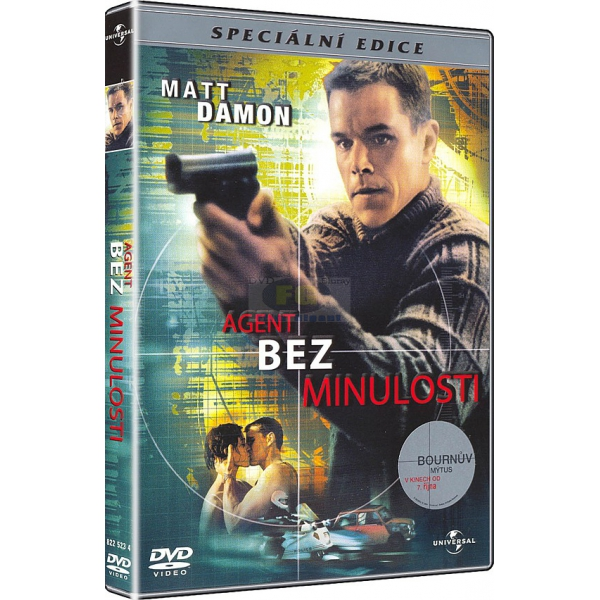 Agent bez minulosti - Speciální edice - DVD /plast/