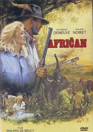 Afričan - DVD /plast/
