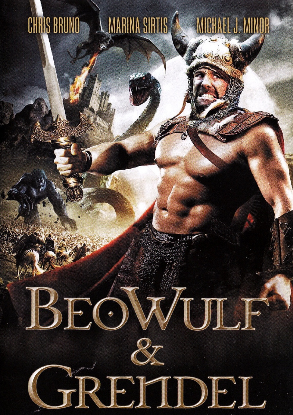 Beowulf & Grendel - DVD /plast/