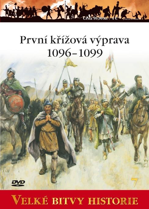 Velké bitvy historie - První křížová výprava 1096-1099 - DVD /slim/