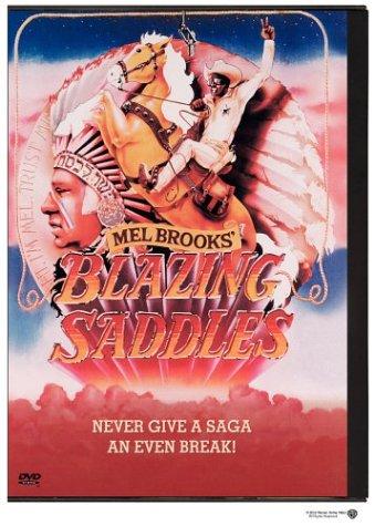 Blazing Saddles / Ohnivá sedla - DVD /plast/