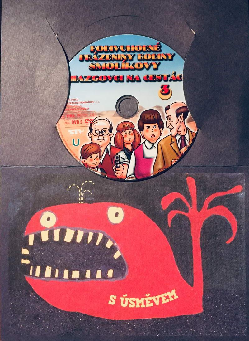 Podivuhodné prázdniny rodiny Smolíkovy 3 - DVD /dárkový obal/