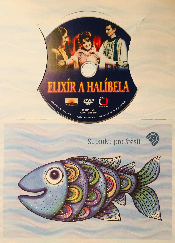 Elixír a Halíbela - DVD /dárkový obal/