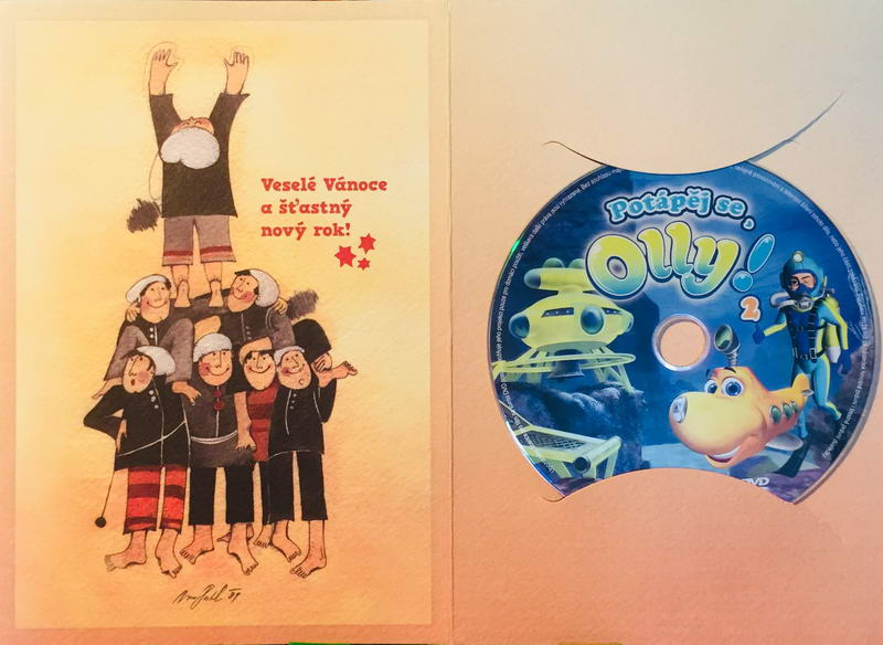 Potápěj se Olly! 2 - DVD /dárkový obal/