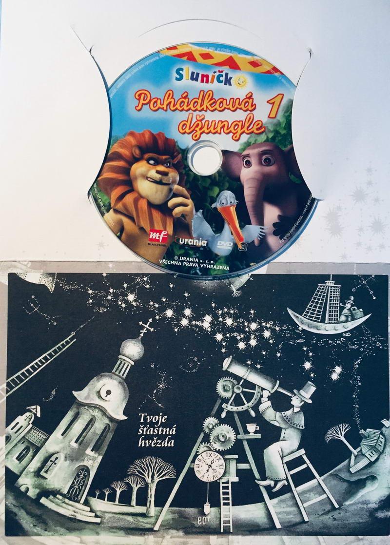 Pohádková džungle 1 - DVD /dárkový obal/