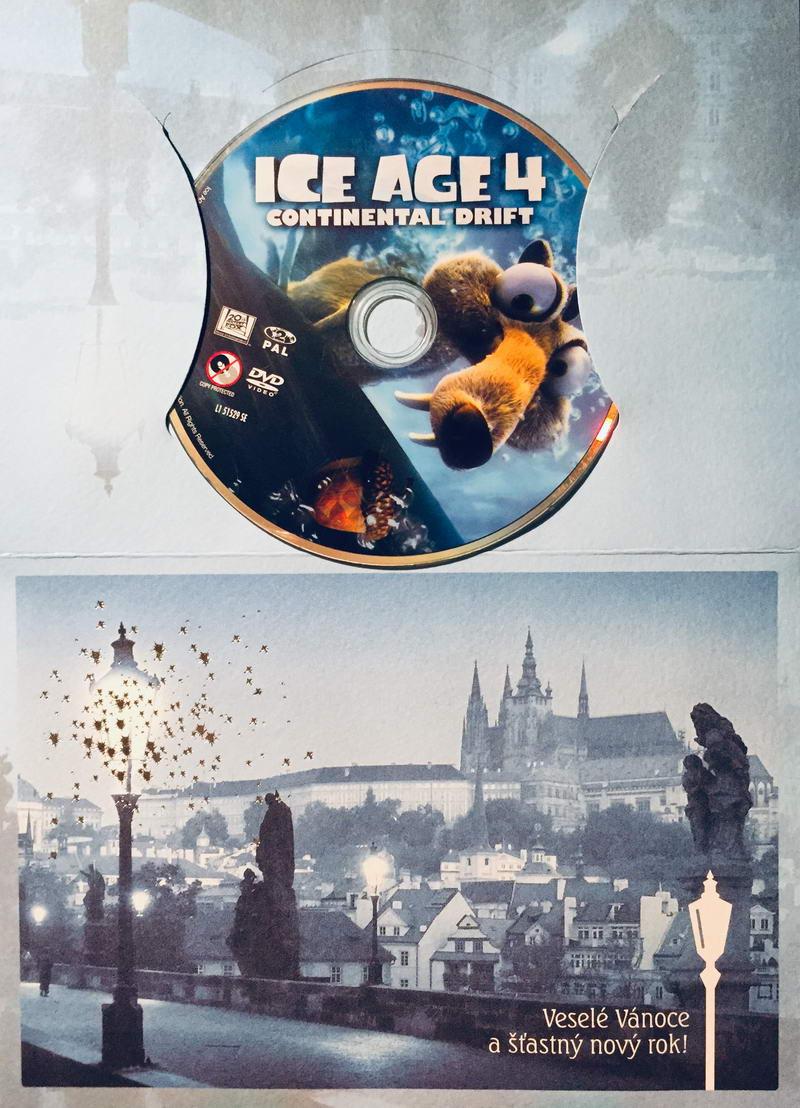 Doba ledová 4 - Země v pohybu - DVD /dárkový obal/
