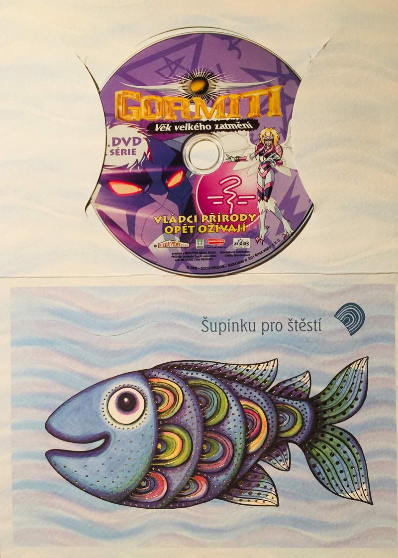 Gormiti - Věk velkého zatmění 15. díl 2. série - DVD /dárkový obal/