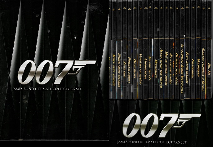 Kolekce 007 James Bond ( Ultimate collector´s set ) 20 DVD slim