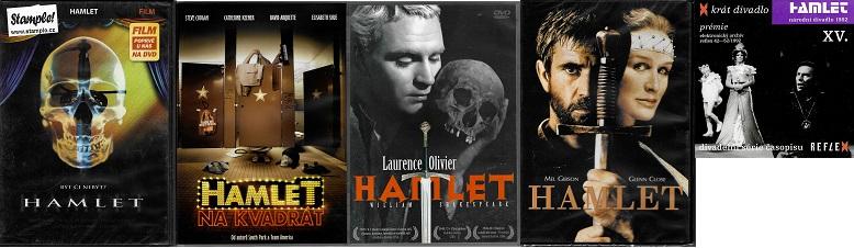 Kolekce Hamlet ( 5x DVD )