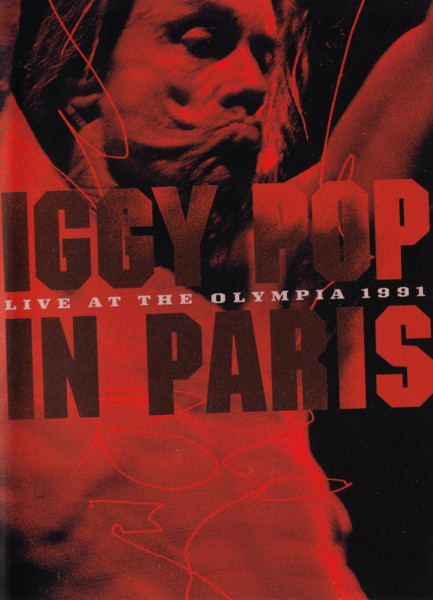 Iggy Pop in Paris - Live at the Olympia 1991 - DVD /plast/