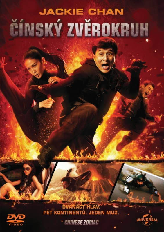 Čínský zvěrokruh - Jackie Chan - DVD /plast/
