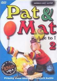 Pat & Mat... a je to! 2 - DVD /plast/