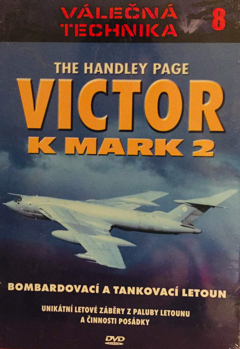 Válečná technika 8 - Victor K Mark 2 - DVD /digipack/