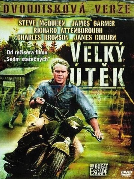 Velký útěk - Dvoudisková verze - 2xDVD /plast/