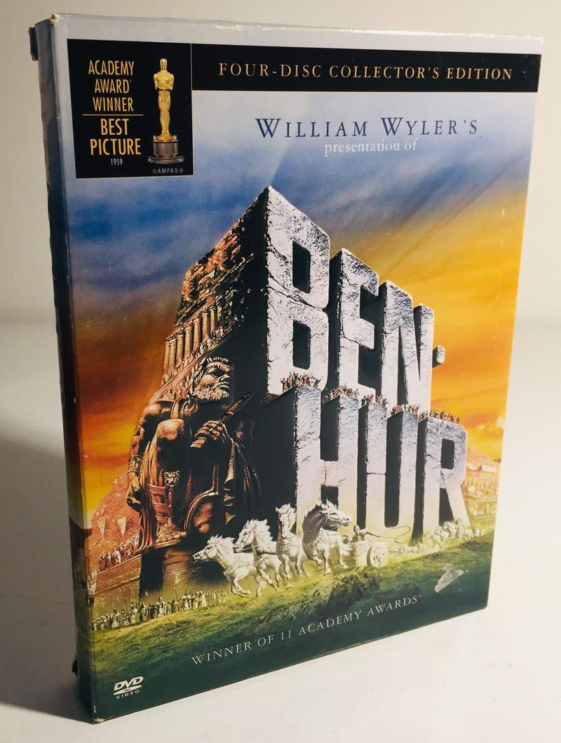 Ben-Hur - Four-discs Collectors Edition - 4xDVD /digipack v šubru/