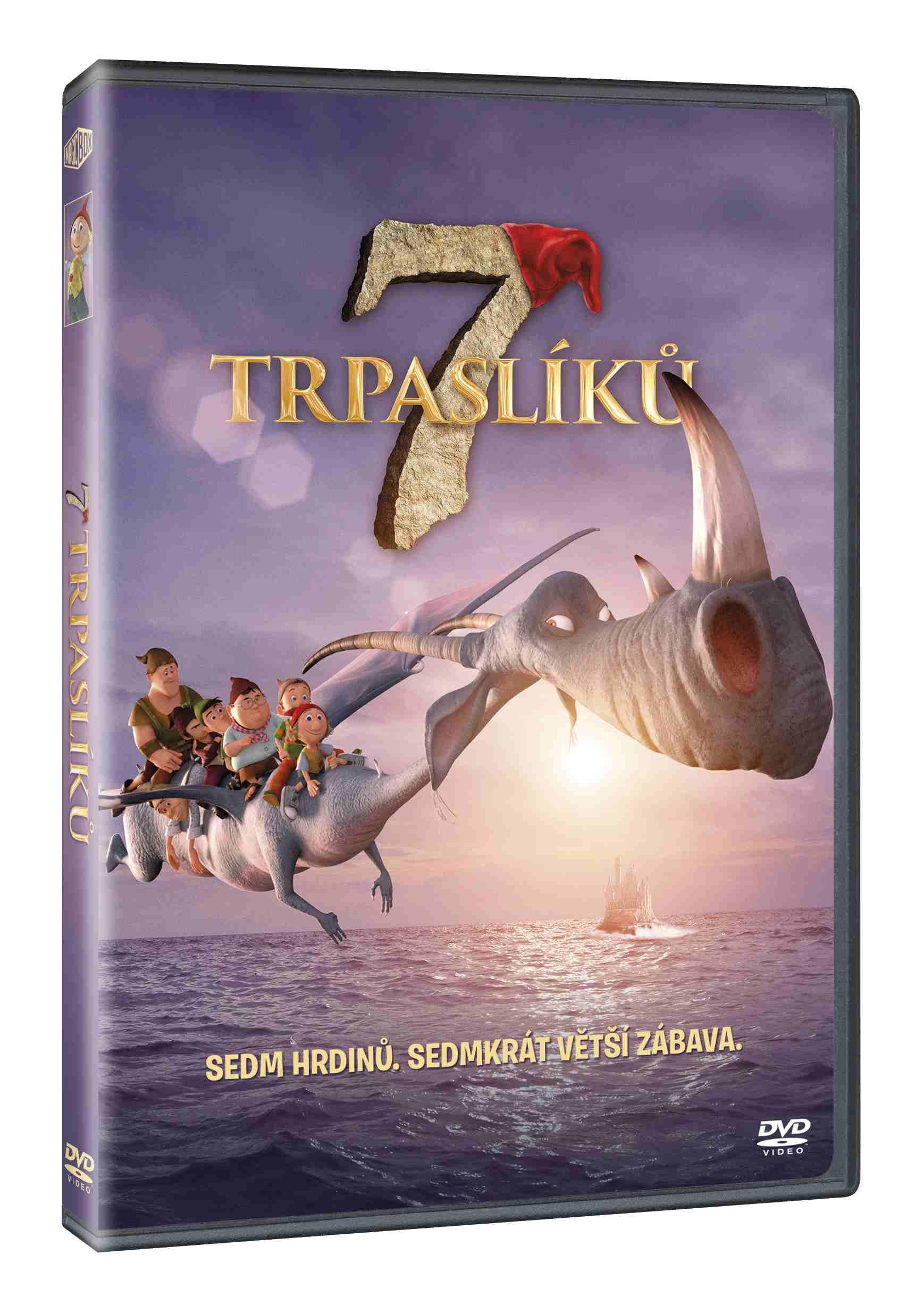 7 trpaslíků - DVD /plast/