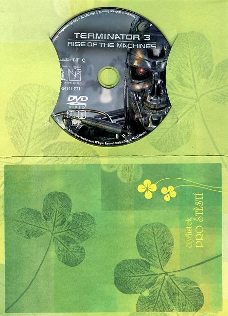 Terminator 3 ( dárkový papír obal ) DVD