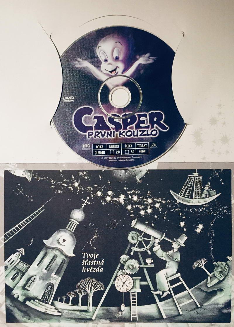 Casper - První kouzlo - DVD /dárkový obal/