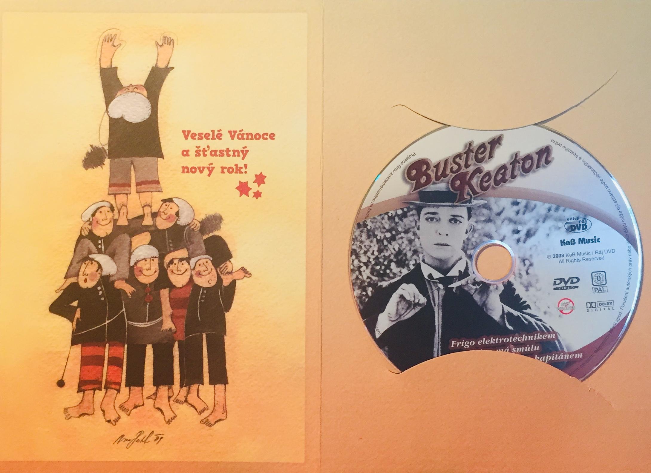 Buster Keaton - kolekce grotesek 2 - DVD /dárkový obal/