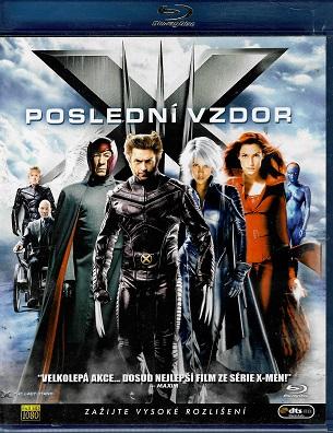 X-Men: Poslední vzdor ( blu-ray )