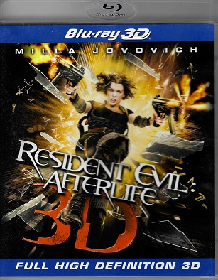 Resident Evil: Afterlife ( blu-ray )