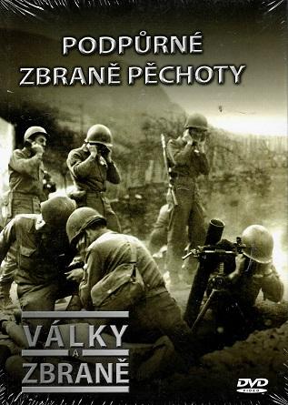 Války a zbraně 50 - Podpůrné zbraně pěchoty ( DVD + brožurka ) - DVD