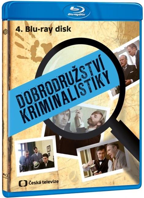 Dobrodružství kriminalistiky 4. - Blu-ray Disc