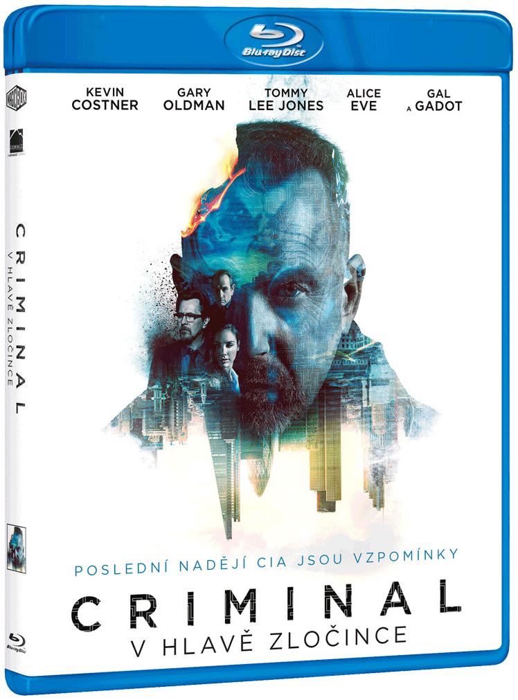 Criminal - V hlavě zločince - Blu-ray Disc