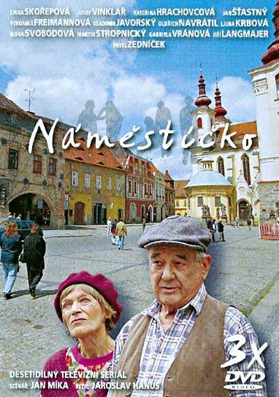 Náměstíčko - desetidílný televizní seriál - 3xDVD /plast/