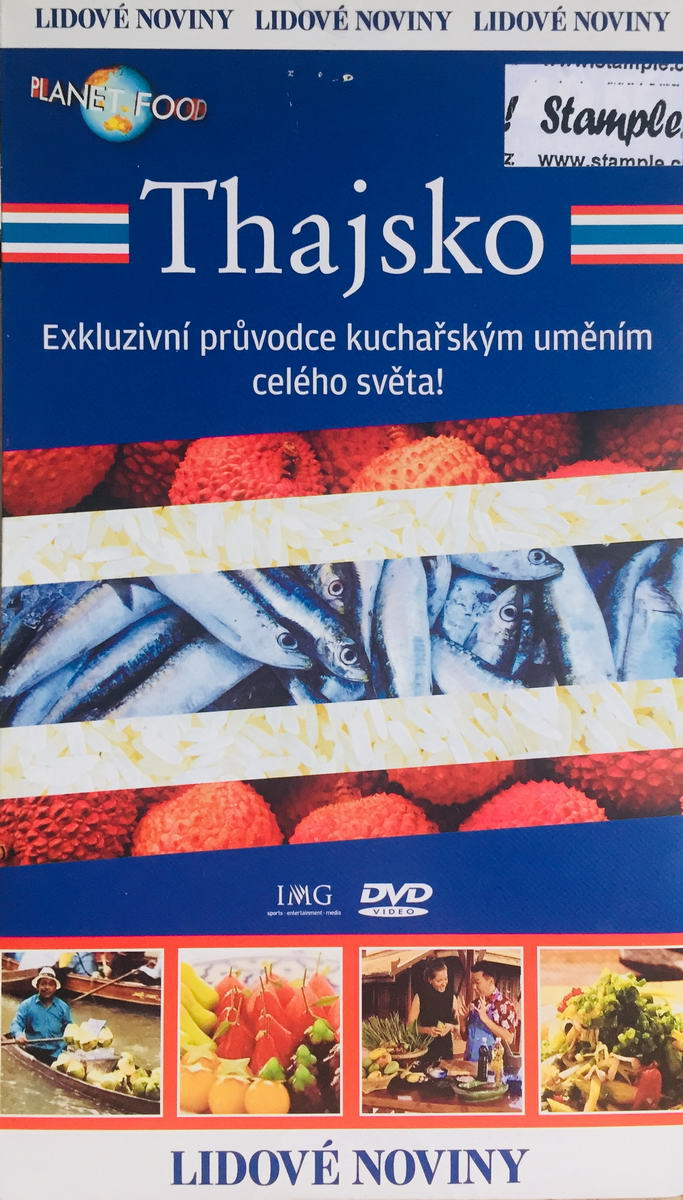Planet Food - Thajsko- DVD /pošetka/