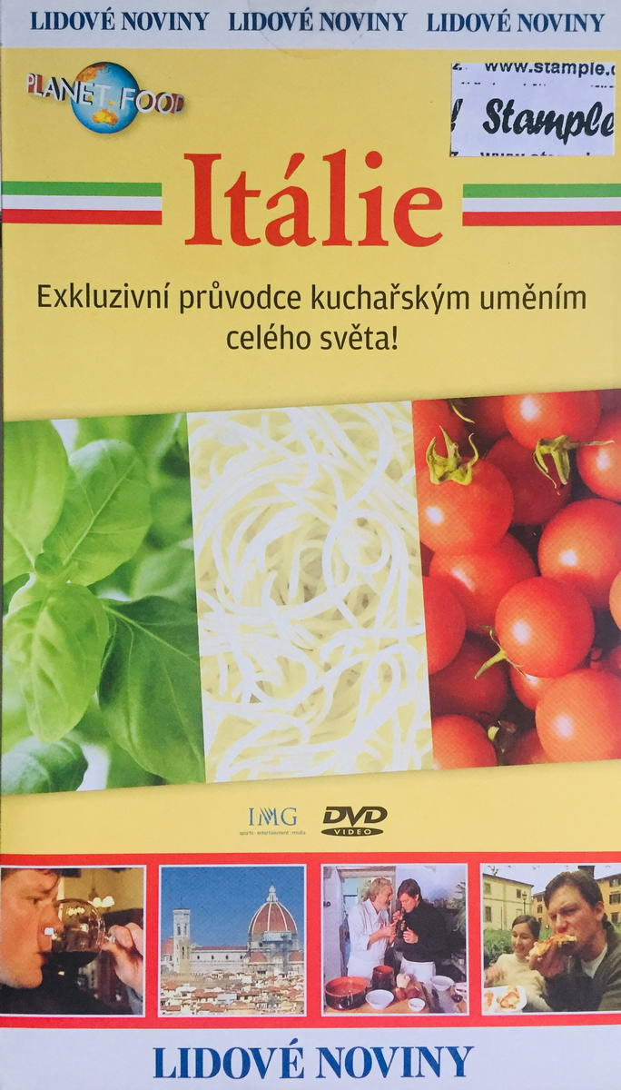 Planet Food - Itálie- DVD /pošetka/