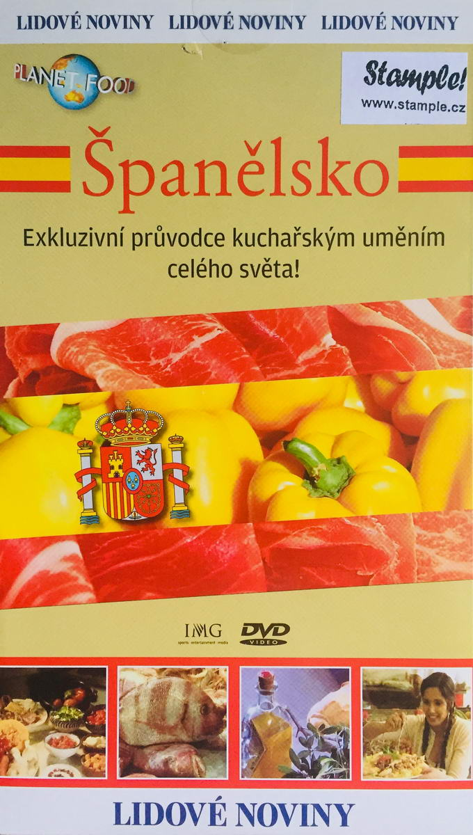 Planet Food - Španělsko - DVD /pošetka/