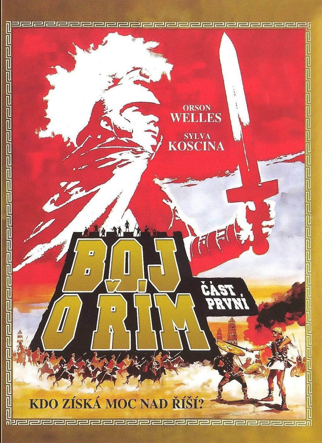Boj o Řím - část první - DVD /digipack/