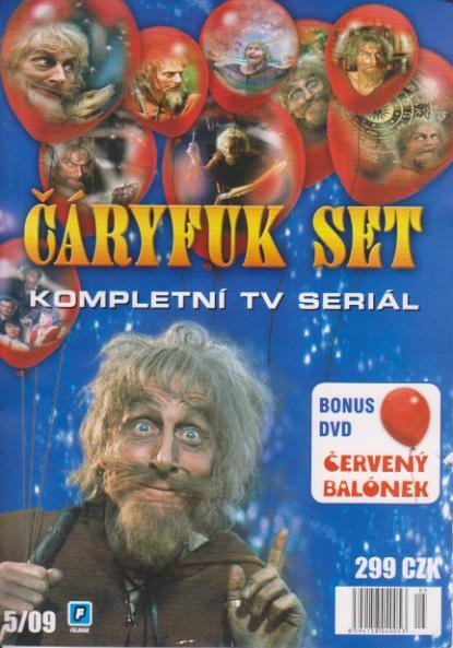 Čáryfuk kolekce 9 DVD