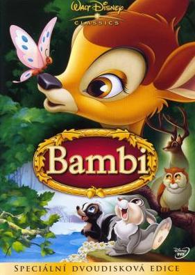 Bambi - Speciální dvoudisková edice - DVD /plast/