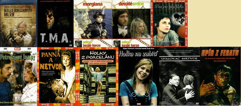 Kolekce Juraj Herz ( 10x DVD + 1x Blu-ray )