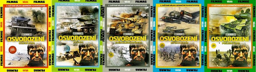 Kolekce Osvobození 5x DVD - Pošetky
